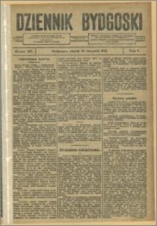 Dziennik Bydgoski, 1912.11.22, R.5, nr 267