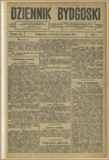 Dziennik Bydgoski, 1912.12.12, R.5, nr 284