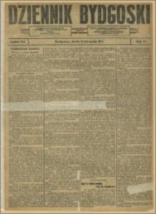 Dziennik Bydgoski, 1913.11.12, R.6, nr 262