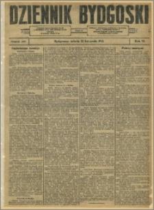 Dziennik Bydgoski, 1913.11.22, R.6, nr 270
