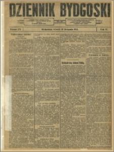 Dziennik Bydgoski, 1913.11.25, R.6, nr 272