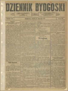 Dziennik Bydgoski, 1914.08.15, R.7, nr 185