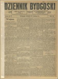 Dziennik Bydgoski, 1914, R.7, nr 219