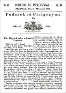 Pielgrzym, pismo religijne dla ludu 1872, dodatek nr 8