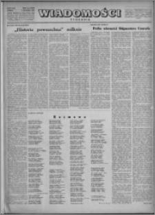 Wiadomości, R. 5, nr 2 (197), 1950