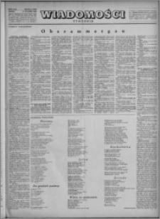 Wiadomości, R. 5, nr 4 (199), 1950