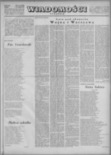 Wiadomości, R. 5, nr 8 (203), 1950