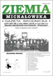 Ziemia Michałowska : Gazeta Brodnicka R. 2001, Nr 2 (216)