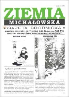 Ziemia Michałowska : Gazeta Brodnicka R. 2001, Nr 3 (217)