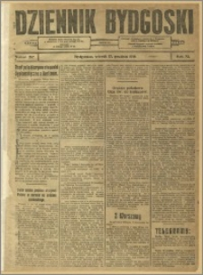 Dziennik Bydgoski, 1918, R.11, nr 287