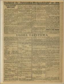 Dziennik Bydgoski, 1919, R.12, nr 201 Dodatek