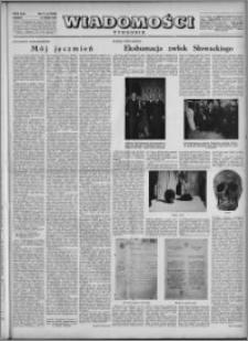 Wiadomości, R. 5, nr 21 (216), 1950