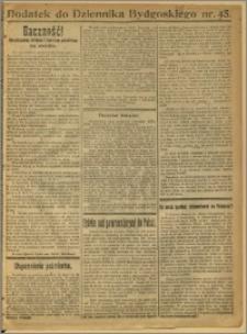 Dziennik Bydgoski, 1921, R.14, nr 45 Dodatek