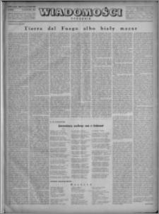 Wiadomości, R. 4, nr 2/3 (145/146), 1949