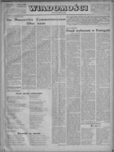 Wiadomości, R. 4, nr 4 (147), 1949