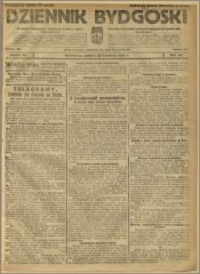Dziennik Bydgoski, 1922, R.15, nr 85