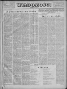Wiadomości, R. 4, nr 5 (148), 1949