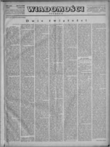 Wiadomości, R. 4, nr 6 (149), 1949