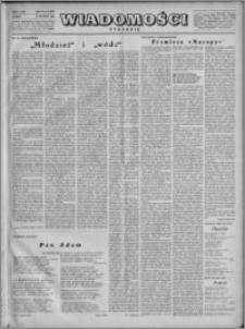 Wiadomości, R. 4, nr 8 (151), 1949