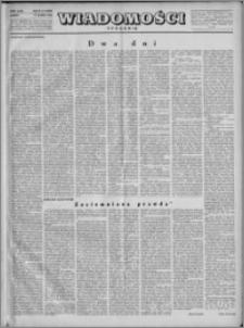 Wiadomości, R. 4, nr 9 (152), 1949