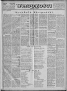 Wiadomości, R. 4, nr 10 (153), 1949