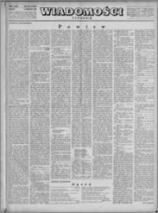 Wiadomości, R. 4, nr 14 (157), 1949