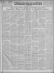 Wiadomości, R. 4, nr 15 (158), 1949