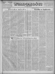 Wiadomości, R. 4, nr 18 (161), 1949