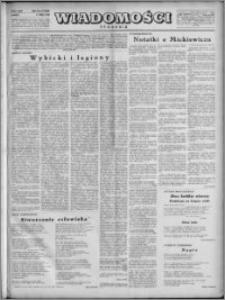 Wiadomości, R. 4, nr 19 (162), 1949