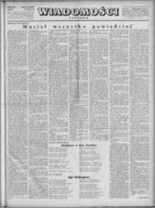Wiadomości, R. 4, nr 20 (163), 1949