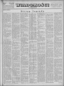 Wiadomości, R. 4, nr 21 (164), 1949