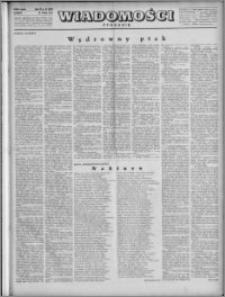 Wiadomości, R. 4, nr 22 (165), 1949