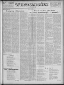 Wiadomości, R. 4, nr 23 (166), 1949