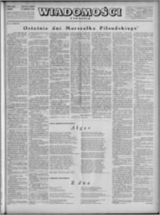 Wiadomości, R. 4, nr 24 (167), 1949
