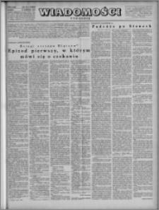Wiadomości, R. 4, nr 25 (168), 1949