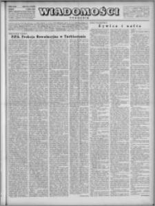 Wiadomości, R. 4, nr 27 (170), 1949