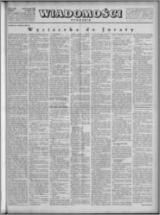 Wiadomości, R. 4, nr 30 (173), 1949