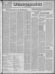 Wiadomości, R. 4, nr 31 (174), 1949
