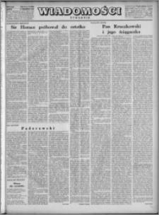 Wiadomości, R. 4, nr 37 (180), 1949
