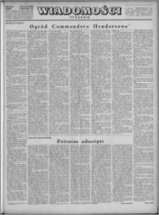 Wiadomości, R. 4, nr 45 (188), 1949