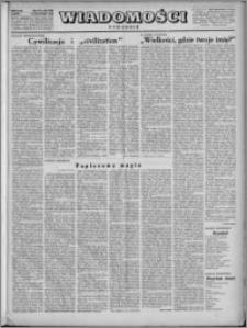 Wiadomości, R. 4, nr 48 (191), 1949