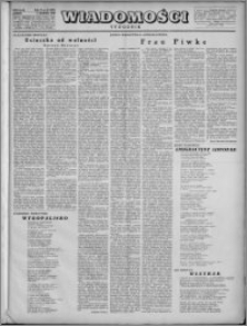 Wiadomości, R. 4, nr 49 (192), 1949