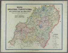 Mapa drogowa i turystyczna województwa wileńskiego