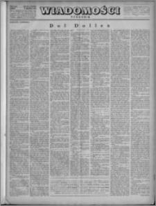 Wiadomości, R. 4, nr 50 (193), 1949