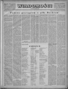 Wiadomości, R. 4, nr 51/52 (194/195), 1949