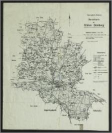 Regierungsbezirk Bromberg : übersichtskarte des Kreises Bromberg