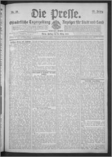 Die Presse 1909, Jg. 27, Nr. 66 Zweites Blatt, Drittes Blatt