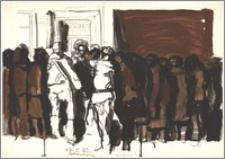 17.I'82 (kolejka przed sklepem)