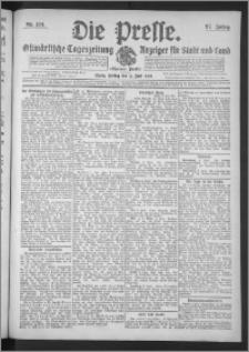 Die Presse 1909, Jg. 27, Nr. 134 Zweites Blatt