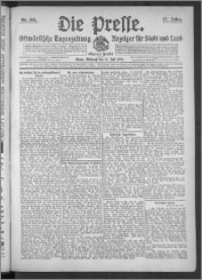 Die Presse 1909, Jg. 27, Nr. 168 Zweites Blatt, Drittes Blatt